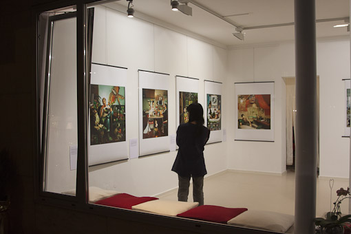 "Micheko Galerie, Vernissage ""New reading portraits"", Mami Kiyoshi"