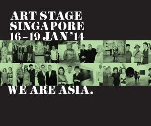 Micheko macht Winterpause und stellt aus auf der Art Stage Singapore 2014