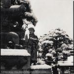 Hiroshi Watanabe, Zenkoji 4, toned gelatin silver print