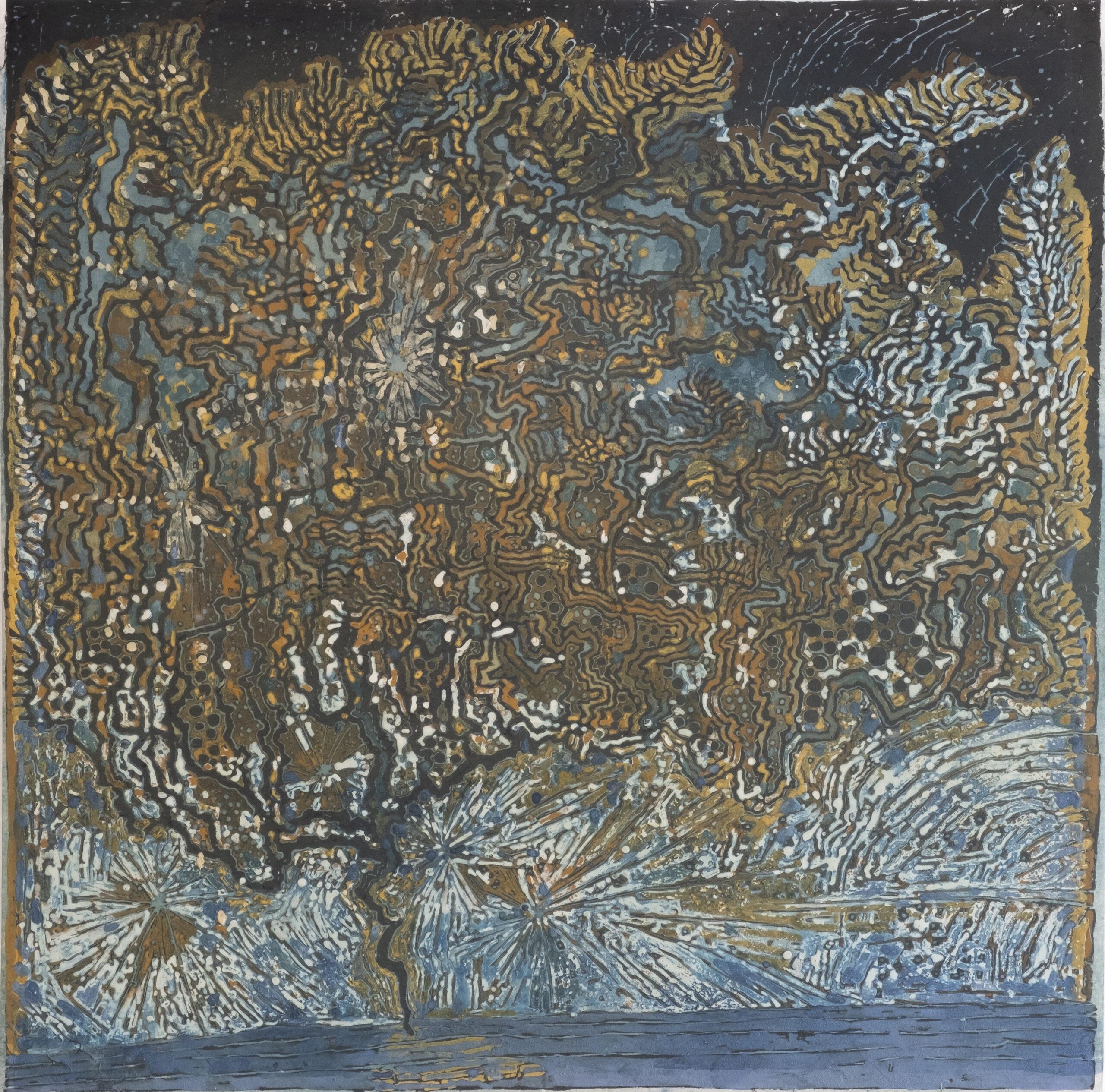 Micheko Toko Izumi Apple Tree at Dawn 00002