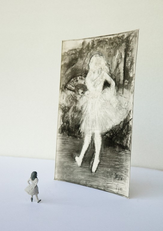 Ballet dust, Saya Irie
