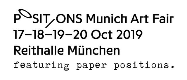 Micheko auf der Positions Munich Art Fair 2019
